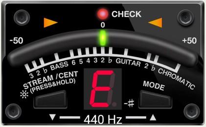aplicacion afinador de guitarra