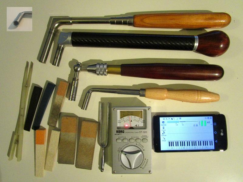 Herramientas Tools Piano Afinar Tuning Afinador 1