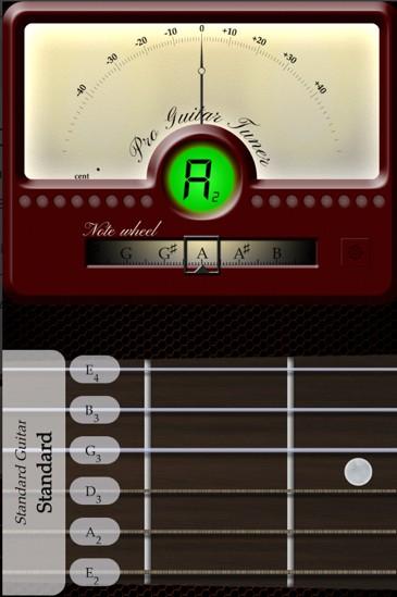 descargar afinador de guitarra