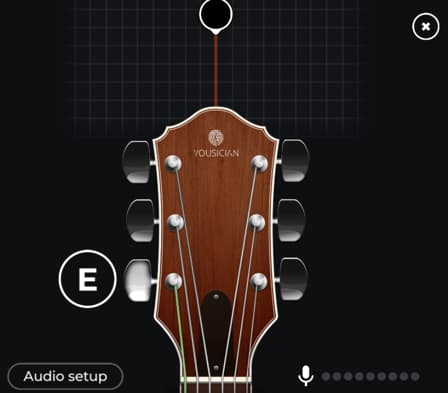 app afinador de guitarra ios