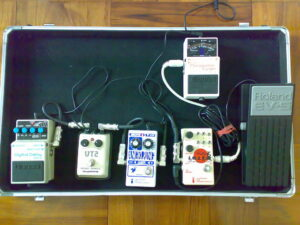 afinadores de guitarra pedales