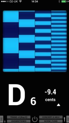 app afinador de guitarra android