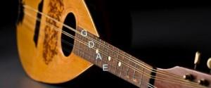mandolin open strings